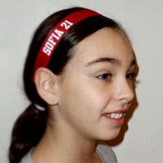 Volleyball hairbands All new custom headbands from SoLi - add a name, number, or sport. Comfortable and they STAY on - lots of colors and new styles coming soon. Volleyball Gear, Volleyball Outfits, Beach Volleyball, Custom Headbands, Team Mom, Hair Band, Activities For Kids, Hair Styles, Sports