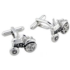 e409e9f5be2d Farm Tractor Cufflinks Silver Cuff links Fantasyard. $18.99. Gift box  available for an additional fee. Please check out through gift-wrap option.