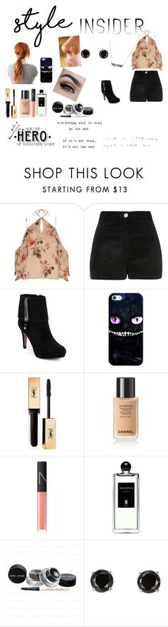 """""""Style Insider"""" by lishabearxx ❤ liked on Polyvore featuring Exclusive for Intermix, River Island, Adrienne Vittadini, Casetify, Prada, NARS Cosmetics, Serge Lutens, Jardin, contestentry and styleinsider"""