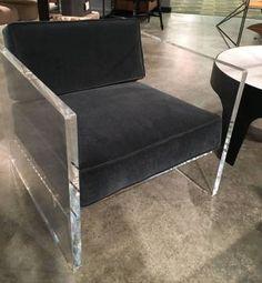 Shadow Acrylic Arm Chair - Mecox Gardens