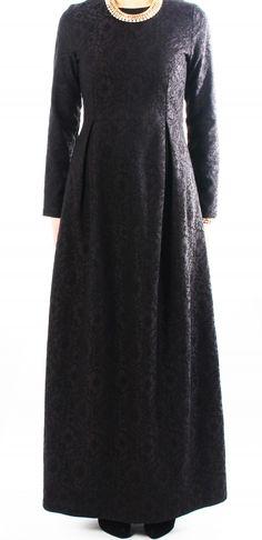 Black Lace Tailored Dress