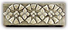 ArteyMetal: Caja joyero plumier floral 21