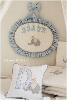 Doruk bebeğin kapı süsü ve yatak tekstili ürünleri...