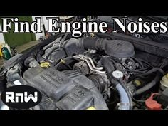 How to Find Engine Noises - Finding Pulley, Bearing, Tapping and Knocking Noises - YouTube
