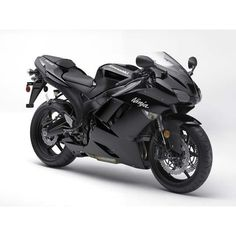 2007 Kawasaki Ninja Zx 6R Black Static Photo 14 ❤ liked on Polyvore featuring cars, motorcycle, vehicles and transport