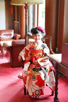 七五三 7歳レンタル着物古典柄【IROHA】 うたかた いちは