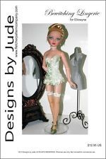 Bewitching Lingerie Pattern for Ellowyne & Prudence Dolls Tonner