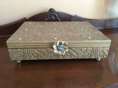 Vintage Silverware Chest Only 1 Available  by funandfancydesigns