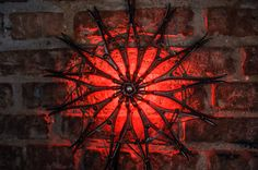 Drakula red highlighted sculpture rossette by herywalery on Etsy, €299.00