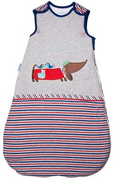 Baby Bedding / Blanket: Grobag Baby Sleeping Bag - Chien Chic 2.5 Tog (18-36 Months) * Check out this great product.