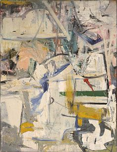 De Kooning, Easter Monday, 1955 – 1956