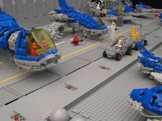 LEGO MOC   Spaceships display #classic #space