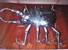 Beetle Small. Contact us at sales@steelartfactory.com for more information.
