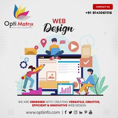 Want to make sure your visitors don't sleep off before making an impression? We use the latest technologies to build impressive websites that boosts your visitors and make sure your visitors make an awesome impression. Contact us now to discuss about your website design needs. 🖥️ www.optiinfo.com 📩 info@optiinfo.com 📲 +918141061116 🔗 wa.me/918141061116 #bestwebdevelopmentcompany #topwebsitedesigndervices #bestwebdevelopmentcompanyinindia #seocompany #websitedevelopment Best Web Development Company, Seo Company, Website Design Services, Website Design Company, Web Design, Logo Design, Latest Technology, Innovation, Sleep