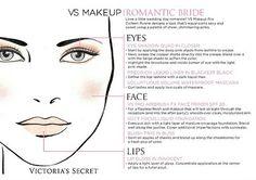 Victoria's Sceret Bridal Makeup  Romantic Bride