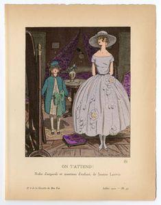 "Women 1915-1920, Plate 050. Metropolitan Museum of Art (New York, N.Y.). Costume Institute. <a class=""pintag"" href=""/explore/costumes/"" title=""#costumes explore Pinterest"">#costumes</a>"