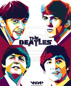 The-beatles-wpap by kurniawanyudhy on DeviantArt