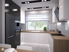 Kitchen Room Design, Modern Kitchen Design, Home Decor Kitchen, Interior Design Kitchen, Home Kitchens, Modern Kitchen Interiors, Modern Kitchen Cabinets, Cuisines Design, Kitchen Remodel