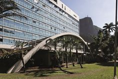 Hospital da Lagoa , Jardim Botânico, projeto de Oscar Niemeyer