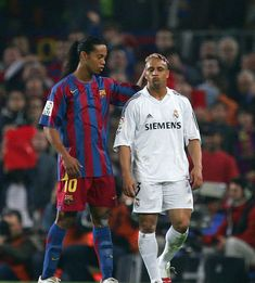 Ronaldinho & Roberto Carlos