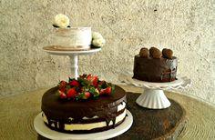 Trio de bolos.