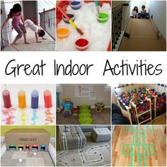 Great Indoor Activities