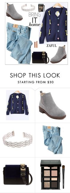 """Zaful 1"" by sabinakopic ❤ liked on Polyvore featuring Dickies, Bobbi Brown Cosmetics and Charlotte Tilbury"