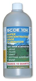 "SCOE 10X -- this is the ONLY thing that will get out dog pee. Every bit of it. Other things mask it or make the carpet ""look"" clean. This completely bio-degrades the pee for your dear sweet little peeing machine. It is expensive, but it works and you MUST FOLLOW THE DIRECTIONS!!!"