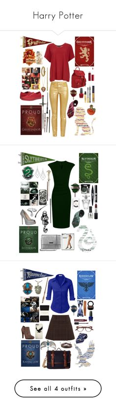"""""""Harry Potter"""" by lexisamskywalker ❤ liked on Polyvore featuring Étoile Isabel Marant, MKF Collection, Vans, Fine by Superfine, Hue, Rubie's Costume Co., Nina Ricci, OPI, Charlotte Russe and Winky Lux"""