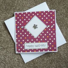 Handmade Birthday Card £1.50