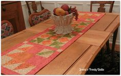 Blue Ridge Mountain In It's Glory Table Runner