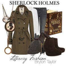 """Sherlock Holmes"" http://brytontaylor.polyvore.com/literary_fashion_sherlock_holmes/set?.svc=copypaste&embedder=0&id=111137183"