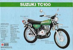 Suzuki - I want to build a vintage TC or TS into an around-town enduro bike someday Moto Suzuki, Suzuki Motorcycle, Honda Motorcycles, Motorcycles For Sale, Kids Motorcycle, Motorcycle Parts, G Photos, Engine Types, Sport Bikes