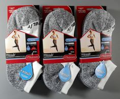 Check out SIX Pair 2015 PRO TREDS® Women's Ultra Performance Running Socks, MEDIUM  only $24.23