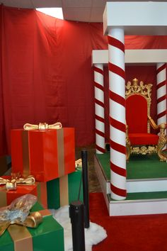 The elves are almost done with Santa's Workshop! #Christmas in #OrangeBeach
