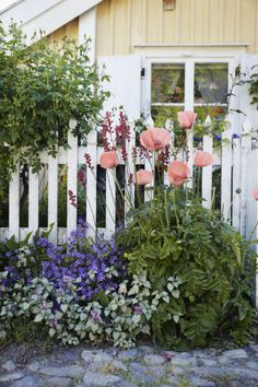 To make a shallow yard seem larger, use horizontal layers of different heights to create the illusion of depth, such as low shrubs before a slightly higher fence, flower beds and an arbor beyond, and taller shrubs near the house.
