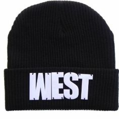 b8da64d6022 WEST Fisherman Rib Embellished Beanie Acrylic 3d Block Lettering Black  Exclusive Price   14.99 Sale   9.99   FREE Shipping on orders over  35.