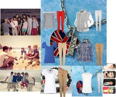 """one direction"" by horsari ❤ liked on Polyvore"