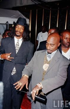 Snoop & Pac @ MTV, '96.