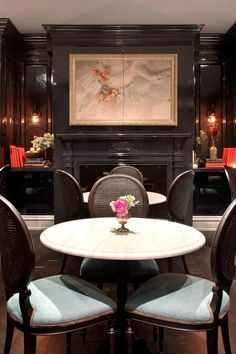 Lanter's Keep a speakeasy-style bar is a romantic setting for a post-dinner nightcap. #Jetsetter