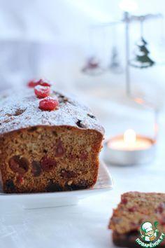 Темный рождественский кекс - кулинарный рецепт