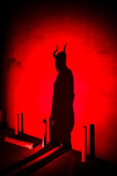 """Satan's Shadow"" — Photographer: Hector Puig Model: Astrid"