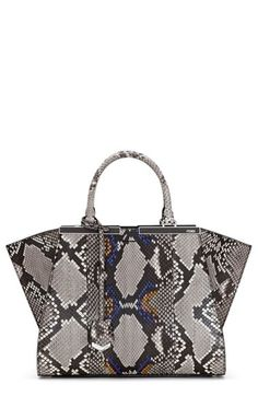 Fendi  Small 3Jours  Genuine Python Shopper available at  Nordstrom  Structured Bag b11f4a7cbc87e