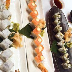 Seems @brunchbloggerlondon had #sushi binge! Thanks for #fab pic @instagram! (^_−)☆