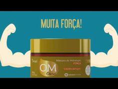 OM Ouro Máscara de Hidratação FORÇA - Yenzah - Chic Mix