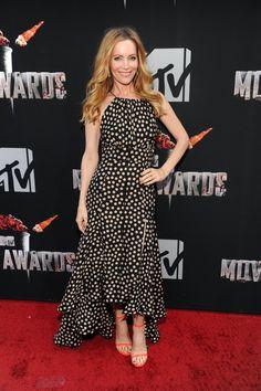 Pin for Later: Les stars étaient nombreuses hier soir aux MTV Movie Awards ! Leslie Mann