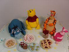 Winnie the pooh and friends | by elizabethscakeemporium