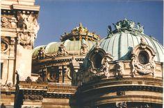 Roof top of Opera Garnier