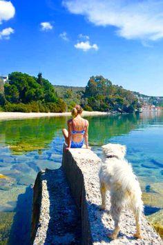 Empty Beaches in Pelion, Greece. Come here already! JR