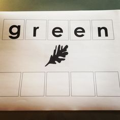 Literacy activity. Children can fill in the blanks by writing the letters in or using letters to fill in the blanks.